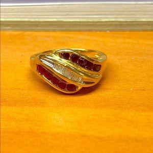 Jewelry - 14kt gold diamond ring